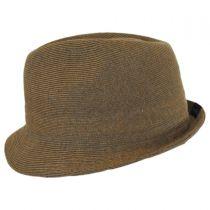 Rib Knit Cotton Blend Arnold Trilby Fedora Hat alternate view 3
