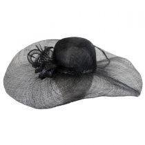 Vera Sinamay Straw Swinger Hat in