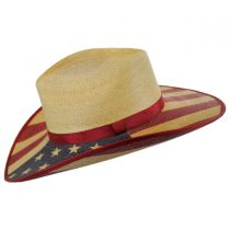 Hero Palm Leaf Straw Western Hat in
