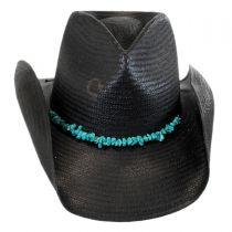 Tulum Straw Western Hat in