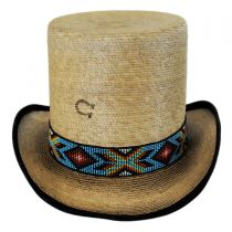 Outlaw Spirit Palm Leaf Straw Top Hat in