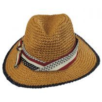 Americana Toyo Straw Fedora Hat alternate view 2