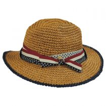 Americana Toyo Straw Fedora Hat alternate view 3