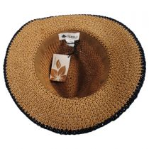 Americana Toyo Straw Fedora Hat alternate view 4
