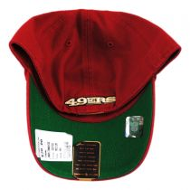 San Francisco 49ers NFL Franchise Fitted Baseball Cap alternate view 4
