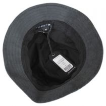 Coated Cotton Bucket Hat in