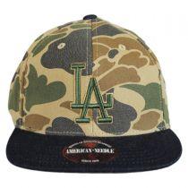 Los Angeles Dodgers MLB Dillon Strapback Baseball Cap Dad Hat alternate view 2