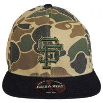 San Francisco Giants MLB Dillon Strapback Baseball Cap Dad Hat alternate view 2