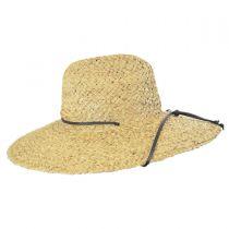 Organic Raffia Straw Lifeguard Hat alternate view 3