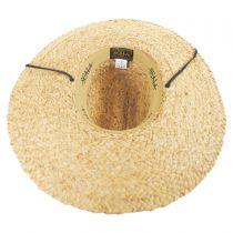 Organic Raffia Straw Lifeguard Hat alternate view 4