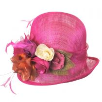 Nina Straw Cloche Hat
