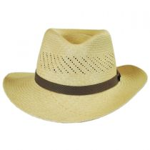 Vent Grade 8 Panama Straw Outback Hat in