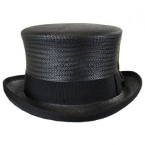 Toyo Straw Top Hat in