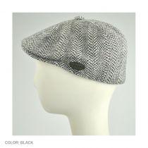 Herringbone Wool Blend 507 Ivy Cap in