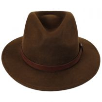 Messer Wool Felt Fedora Hat in