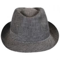 Osceola Linen Fedora Hat alternate view 6