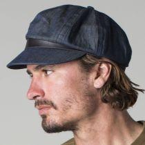 Montreal Cotton Blend Baker Boy Cap in