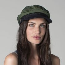 Two-Tone Cotton Fiddler Cap in