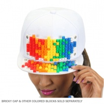 Bricky Blocks Snapback Baseball Cap INCLUDING Bricks alternate view 8