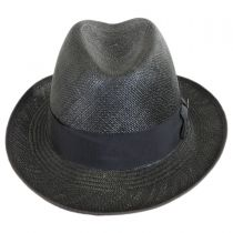 Churchill Panama Straw Homburg Hat alternate view 2