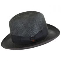 Churchill Panama Straw Homburg Hat alternate view 3