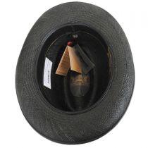 Churchill Panama Straw Homburg Hat in