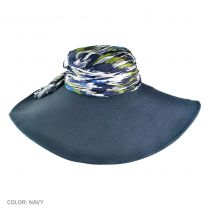 Batik Silk Crown Swinger Hat