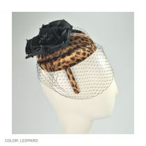 Leopard Pillbox Headband