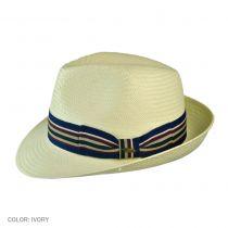 Solana Toyo Straw Fedora Hat in