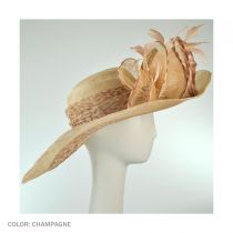 Honey Mahogany Swinger Hat