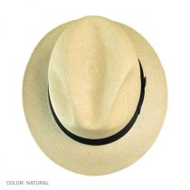 Quito Panama Straw Fedora Hat in