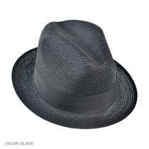 Charleston Hemp Straw Fedora Hat alternate view 2
