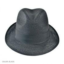 Charleston Hemp Straw Fedora Hat alternate view 3