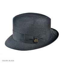 Charleston Hemp Straw Fedora Hat alternate view 4