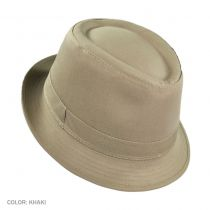 Cotton Rain Fedora Hat