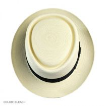 Montego Panama Straw Pork Pie Hat in
