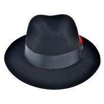 Detroit Fur Felt Fedora Hat in