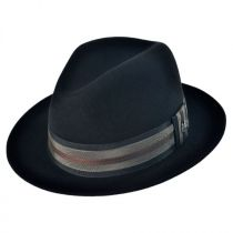 Uptown Wool Felt Fedora Hat in