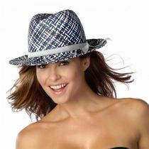 Anguilla Toyo Straw Fedora Hat in