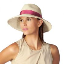 Alhambra Toyo Straw Fedora Hat in