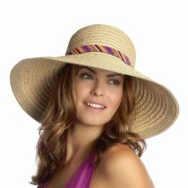 Marrakesh Raffia Straw Sun Hat in