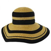 Kismet Rollable Toyo Straw Sun Hat in