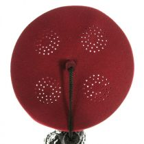Turkish Deluxe Wool Felt Fez with Black Tassel - Made to Order in