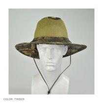Mesh Cotton Aussie Fedora Hat in