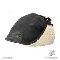 Leather Aviator Helmet in