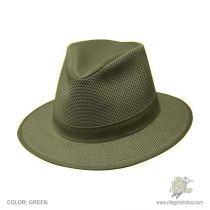 Crushable Mesh Safari Fedora Hat in