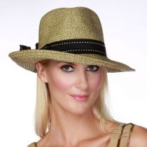 Rich Pitch Toyo Straw Fedora Hat alternate view 2