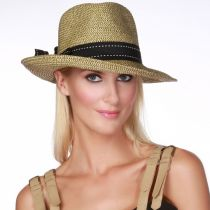 Rich Pitch Toyo Straw Fedora Hat alternate view 4