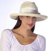 Adriana Toyo Straw Fedora Hat alternate view 11