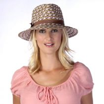 Cypress Toyo and Milan Straw Fedora Hat in